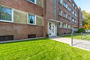 RESERVIERT! Sehr gut aufgeteilte Wohnung mit West-Balkon in Buer - www.HUNDT.IM