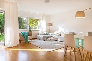 Ruhig gelegen - mit Garten und Loggia! - www.HUNDT.IM