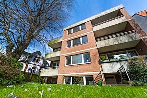 Terrassenwohnung in bester Innenstadtlage von Buer - www.HUNDT.IM