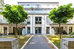 Barrierefreie Neubau-Erdgeschosswohnung in Citynähe - www.HUNDT.IM