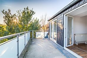 Kleine Terrassen-Wohnung in Buer! - www.HUNDT.IM